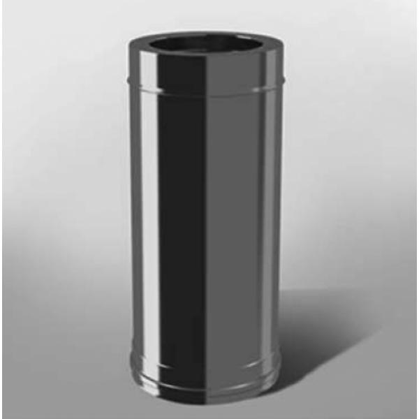 Труба дымохода Термо Ф200х260/430/0,8/0,5 - 1м